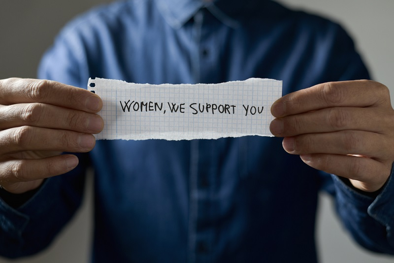 male support equality